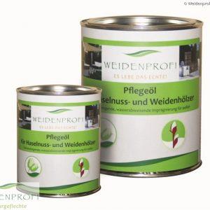 Weidenprofi Pflegeöl für Haselnuss- und Weidenzäune