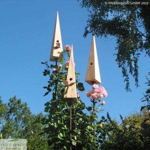 Nistkasten Vogeldorn aus Lärchenholz